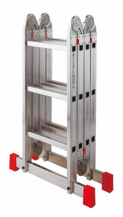 Лестницы, Леса - SICOS универсальная лестница, 4 x 3 ступени