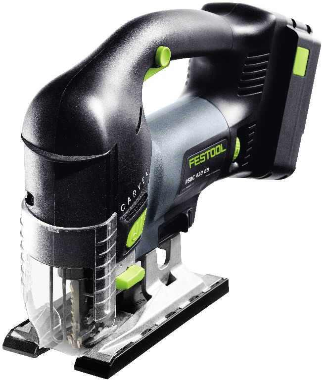 FESTOOL PSBC 420 EB - PLUS, 18V / 5,2Ah Akumulatora figūrzāģis Jigsaw