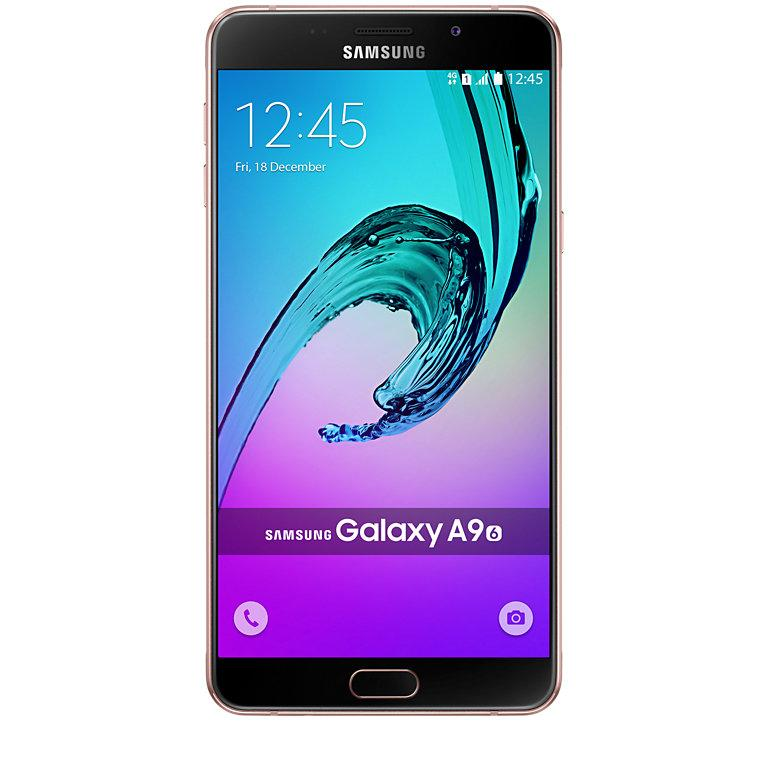 Samsung A9000 Galaxy A9 32GB Dual pink gold - samsung mobilie telefoni roza - Elektronika Mobīlie telefoni Samsung
