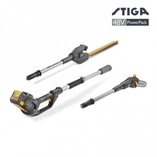 zāģi zariem - Grieznes zariem - Stiga SMT 48 AE Multitool Dzīvžogu šķēres/Zāģis (bez akumulatora un lādētāja)