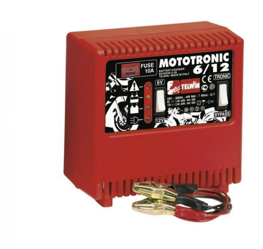 Зарядные устройства автомобильные - Telwin Mototronic 6/12 Зарядное устройство для аккумуляторов