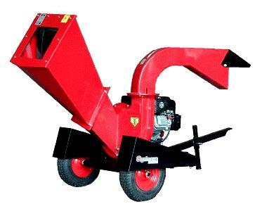 Agrinova ZE400-H benzīna zaru smalcinātājs (Profesionālais) - zaru zagis - Grieznes zariem