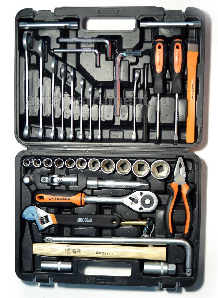 Instrumentu komplekti - instrumentu komplekti lv - instrumentu kompl. 41pr. 1/2DR AVTODELO (39941)