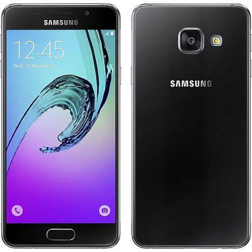 Elektronika Mobīlie telefoni Samsung - Samsung Galaxy A3 (2016) SM-A310F melns - black - galaxy a3 2016