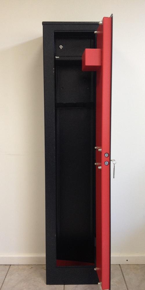 Оружейный сейф SG-138K3 (RC-1S) (на 3 оружий) - Для дома Сейфы - шкафы брусали шкаф с дверями коричневы