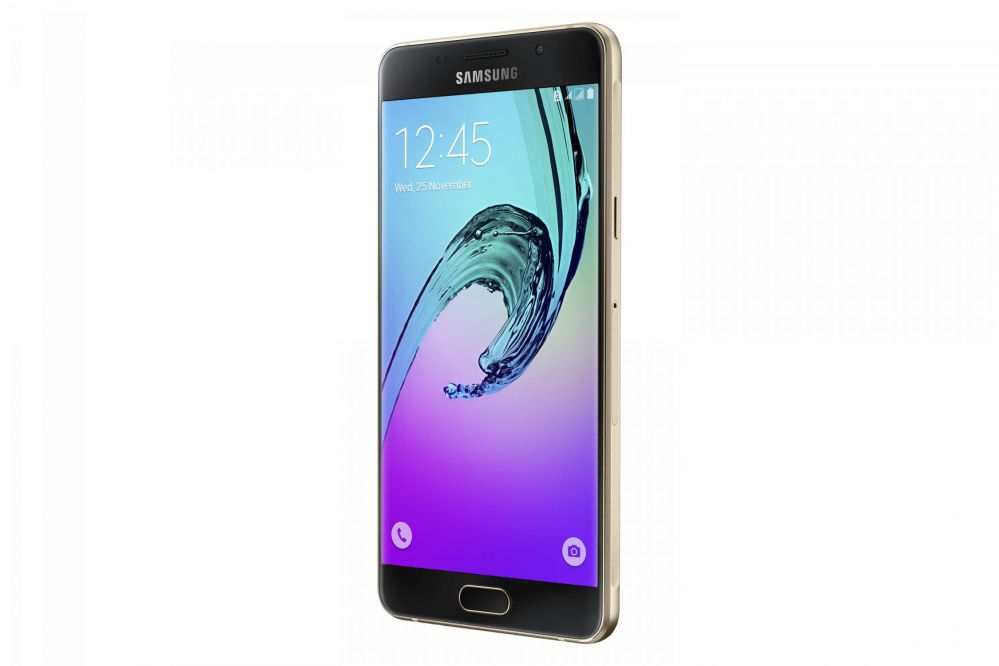 Elektronika Mobīlie telefoni Samsung - electrolux en 2900 aox - Samsung A510F Galaxy A5 16GB (2016) melns - black