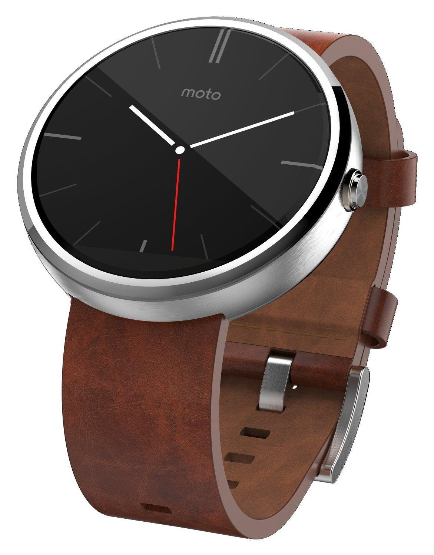 Motorola Moto 360 Smartwatch 46mm silver/brown - Электроника Умные часы SmartWatch - шкафы брусали шкаф с дверями коричневы