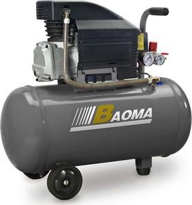 Компрессоры - BAOMA ZA-0.12/8 - 50L воздушный компрессор