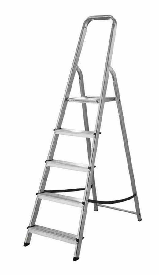 Лестницы, Леса - ABRU PROMASTER стремянка 4 ступени ( 60004&ABRU )