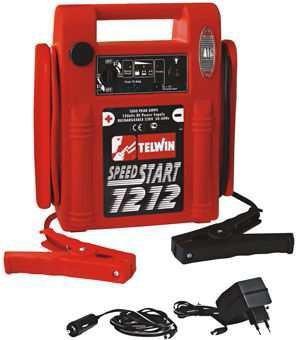 Auto lādēšanas ierīces - dwt akkumulatora urbmašinas - Telwin SpeedStart 1212  Akkumulatora starteris, autonoms