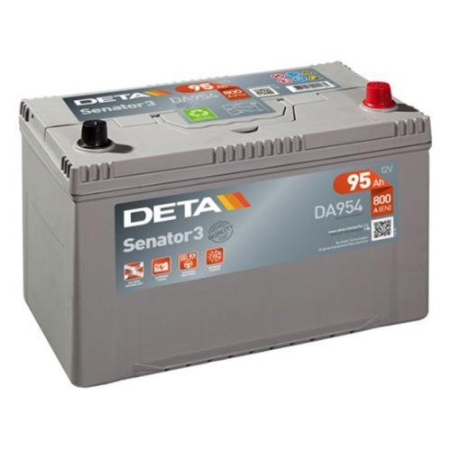 Аккумуляторы - Авто аккумулятор DETA SENATOR3 AK-DA954 12V/95Ah/800A - klemma
