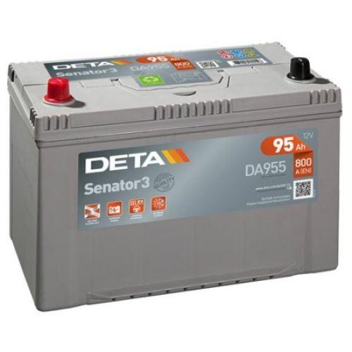 Аккумуляторы - klemma - Авто аккумулятор DETA SENATOR3 AK-DA955L 12V/95Ah/800A