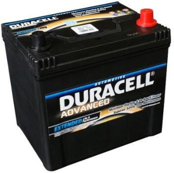 Auto akumulators Duracell Advanced AK-DU-DA60 60Ah 480A - latvians autos veikals - Akumulatori