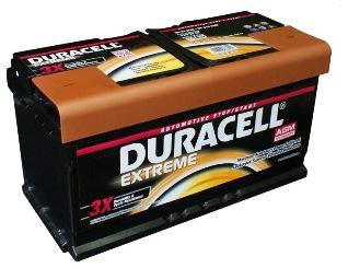 latvians autos veikals - Akumulatori - Auto akumulators Duracell Extreme AGM AK-DU-DE92AGM 92Ah 850A