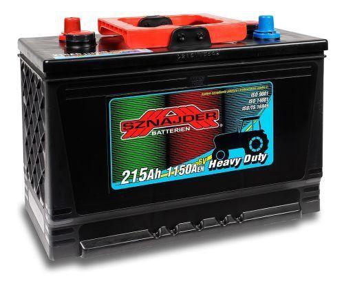 Auto akumulators SZNAJDER AK-SZ21517 6V/215Ah/1150A - Akumulatori - latvians autos veikals