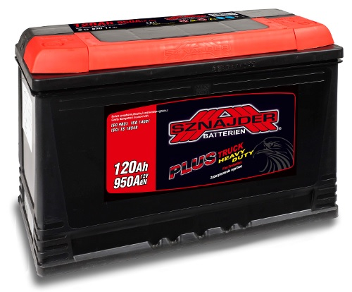 Akumulatori - latvians autos veikals - Auto akumulators SZNAJDER AK-SZ62011 12V/120Ah/950A