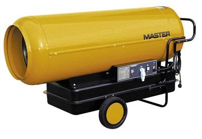 Дизельные обогреватели - MASTER B 230 Дизельный нагреватель с прямым пламенем