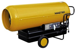 Дизельные обогреватели - MASTER B 360 Дизельный нагреватель с прямым пламенем