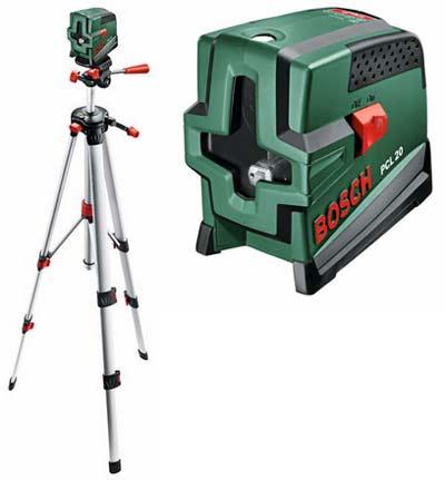 Уровни лазерные - Bosch PCL 20 лазерный нивелир