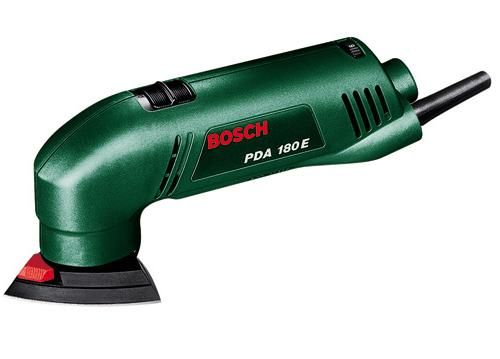 Bosch PDA 180 дельтаобразная шлифмашина - bosch latvija - Шлифовка, полировка, гравировка