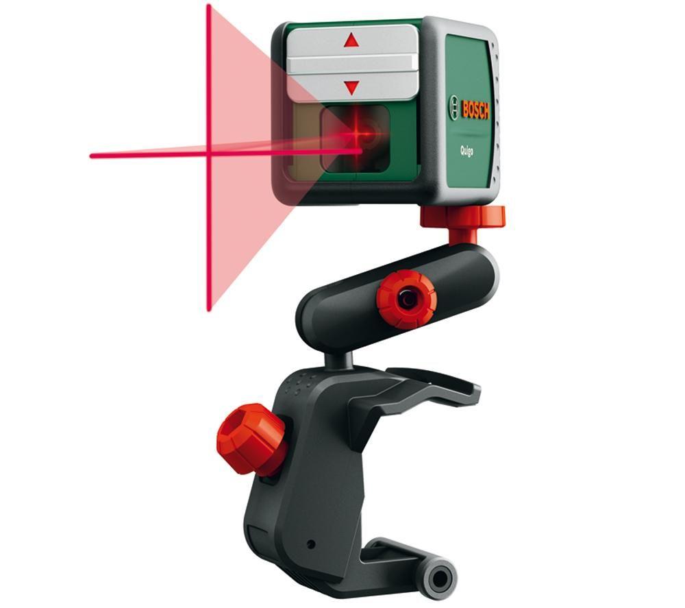 Уровни лазерные - Bosch Quigo + MM2 лазерный нивелир