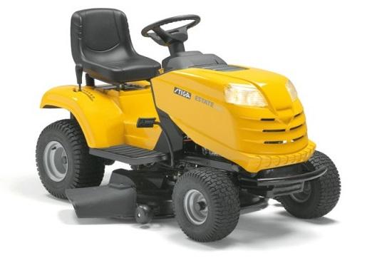 Тракторные газонокосилки - Stiga Estate Tornado 14 садовый трактор