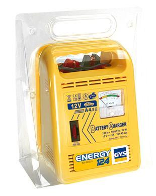 Зарядные устройства автомобильные - Зарядное устройство для аккумуляторов GYS ENERGY 124