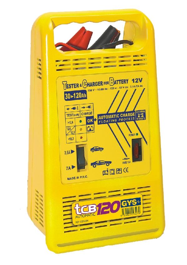 Зарядные устройства автомобильные - Зарядное устройство для аккумуляторов GYS TCB 120 automatic