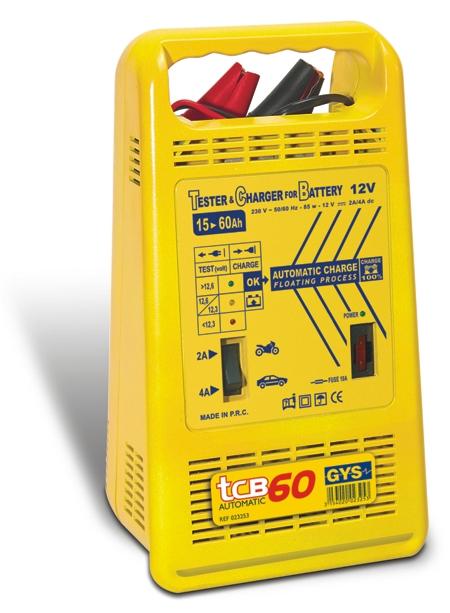 Зарядные устройства автомобильные - Зарядное устройство для аккумуляторов GYS TCB 60 automatic