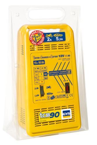 Зарядные устройства автомобильные - Зарядное устройство для аккумуляторов GYS TCB 90 automatic