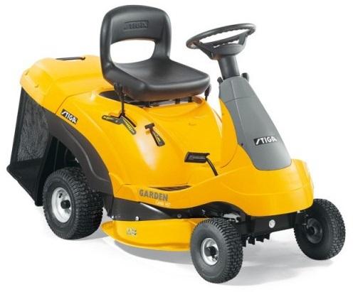 Тракторные газонокосилки - Stiga Garden Combi HST садовый трактор