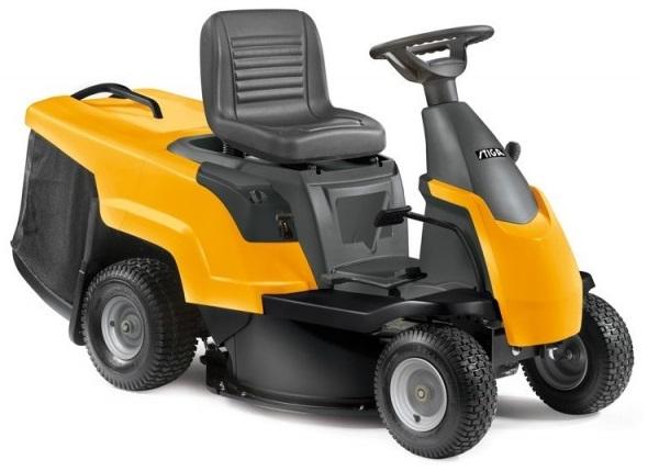 Тракторные газонокосилки - Stiga Garden Compact E HST B садовый трактор