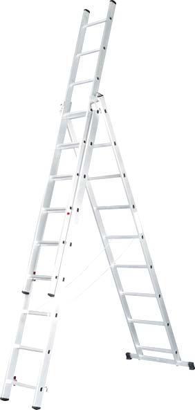 Лестницы, Леса - Лестница ALPE комбинированная 3x9