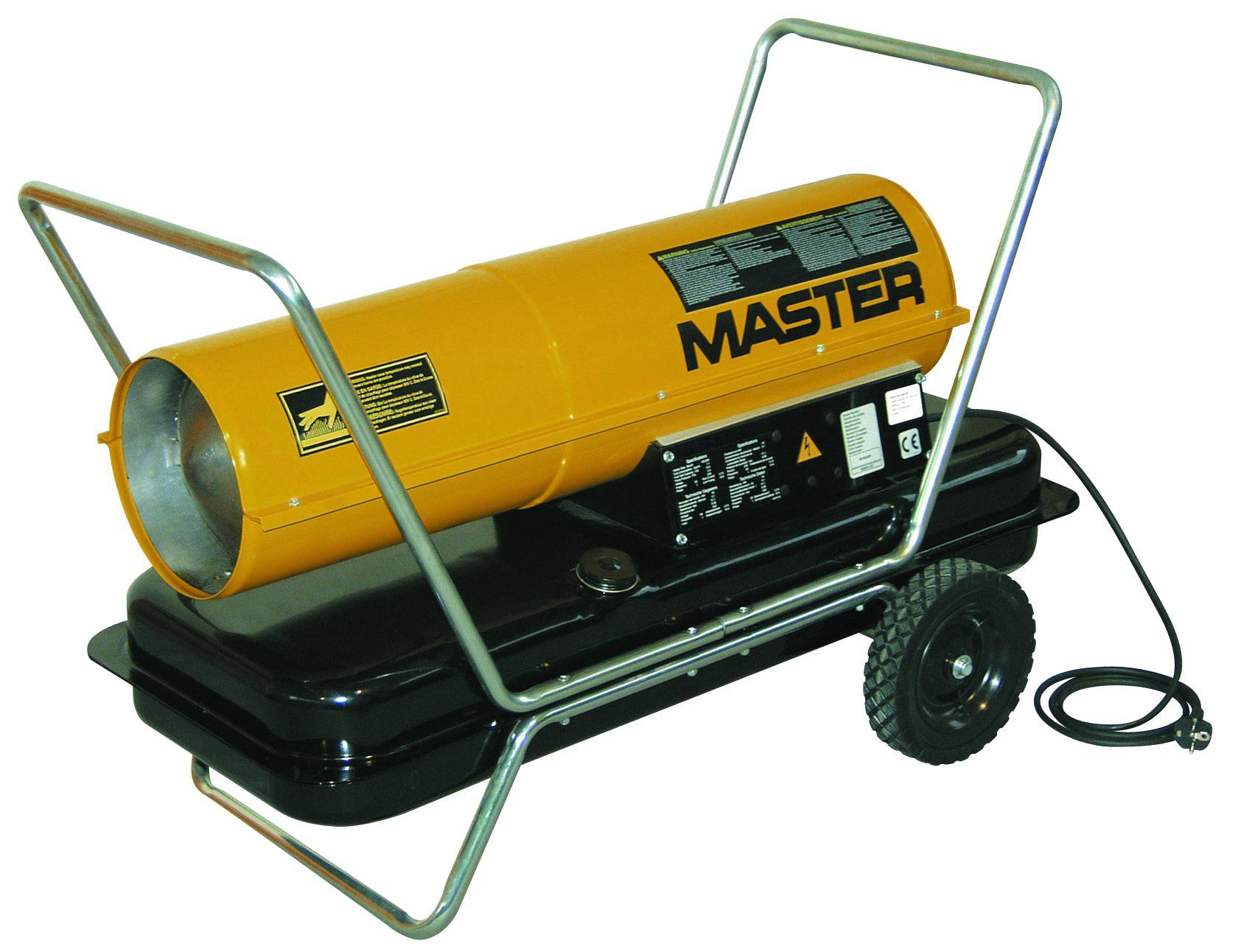 Дизельные обогреватели - MASTER B 100 CED Дизельный нагреватель с прямым пламенем