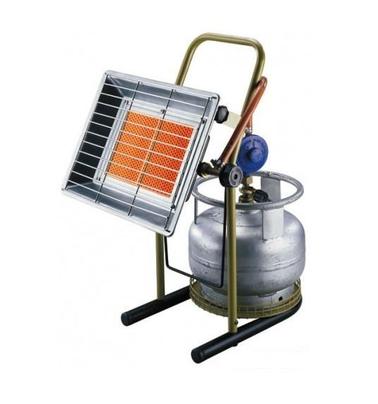 Nurgaz NG 310 Infrasarkans gāzes sildītāj - gāzes plīts virsma dziļums 48 - Remontam Siltumtehnika Infrasarkana apkure