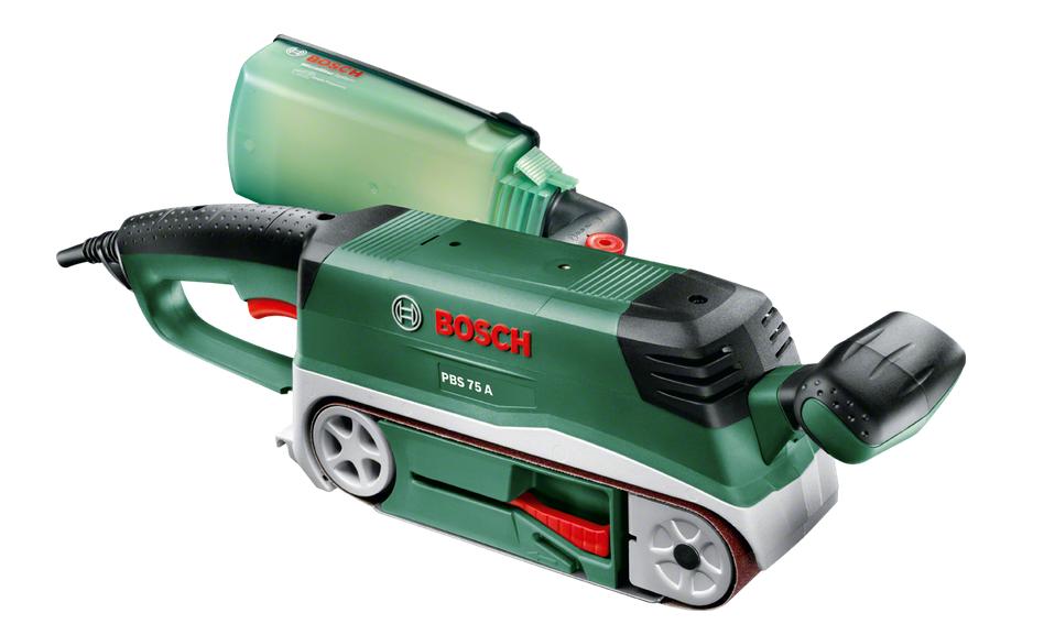 Slīpējamās iekārtas - Bosch PBS 75 A lentes slīpmašīnas - lentas slipmasinas einhell