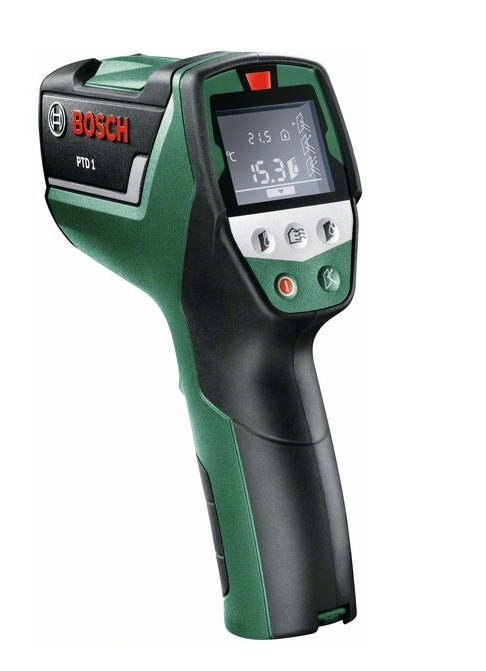 Termometri - Bosch PTD 1 siltuma detektors - lauka termometrs