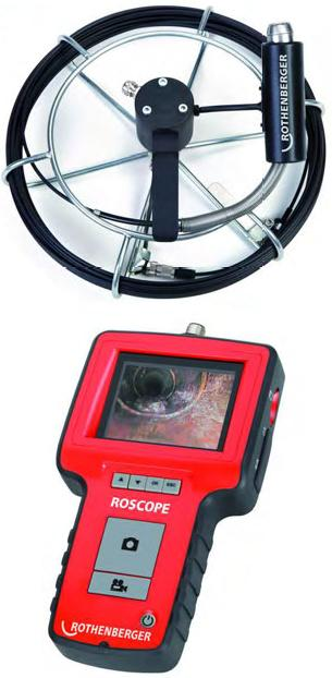 САНТЕХНИЧЕСКИЙ инструмент - аппарат гравировальный ruchnaja на камне kupitj - ROSCOPE MICRO 25мм / 22м комплект камеры