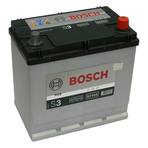 Auto akumulators Bosch S3 016 45Ah Akumulatori