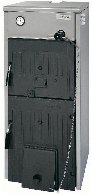 Твeрдотопливные котлы - Sime FB-5 25,6 kW отопительный чугунный котел