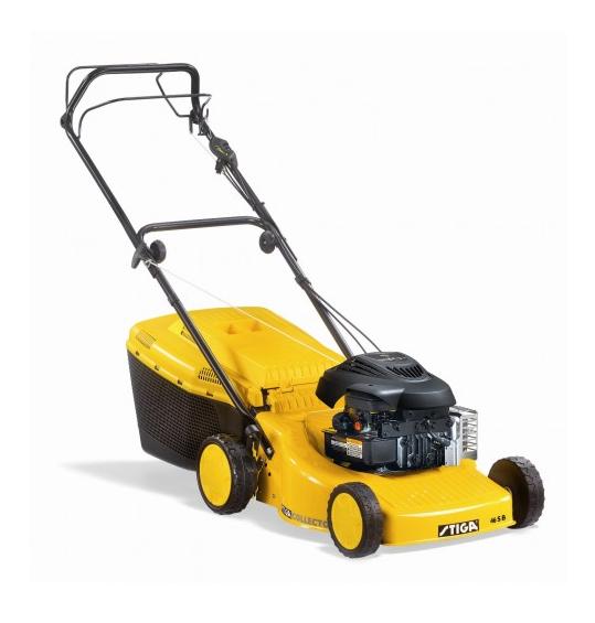 Pļaujmašīnas - skrūvju cena - Stiga Collector 46 Combi B benzīna zāles pļāvējs