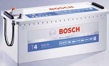 Аккумуляторы - bosch latvija - Авто аккумулятор Bosch T4 076 140Ah