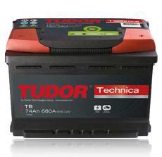 Tudor Technica AK-TB620 12V/62Ah/540A - kress garantijas remonts - Akumulatori