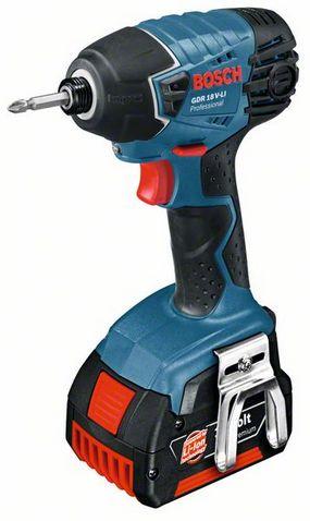 шуруповёрт торн 18 в - Шуруповерты, Отвертки аккумуляторные - Bosch GDR 18 V-Li compact 2x1,3 Ah Аккумуляторный ударный гайковёрт