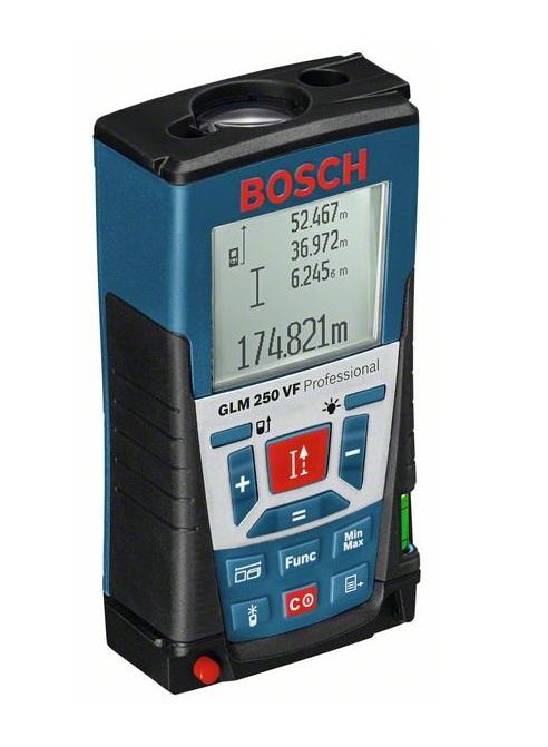 Дальномеры лазерные - Bosch GLM 250 VF лазерный дальномер-рулетка