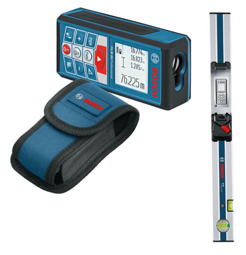 Дальномеры лазерные - Bosch GLM 80 + R60 лазерный дальномер-рулетка