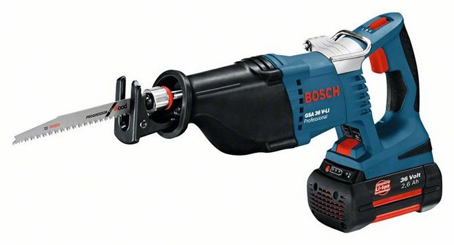Bosch GSA 36 V-Li 1x2,6 Ah Аккумуляторная ножовка Electric saws