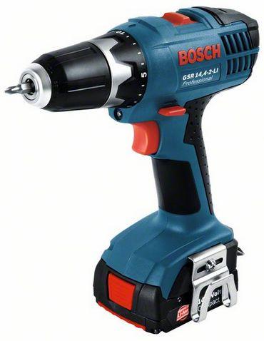 Bosch GSR 14,4-2-Li 2x1,3 Ah Аккумуляторная дрель-шуруповёрт Характеристики GSR 14,4-2-LI Professional Макс. крутящий момент (жесткое заворачивание
