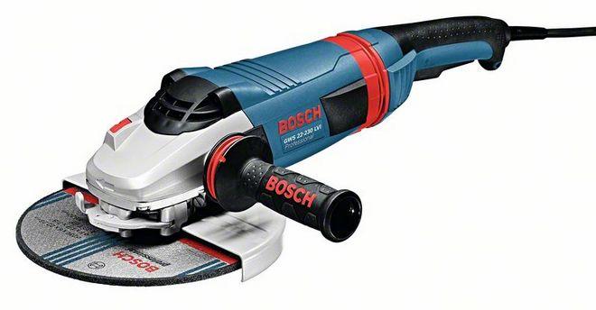 Bosch GWS 22-230 LVI Угловые шлифмашины Углошлифовальные машины