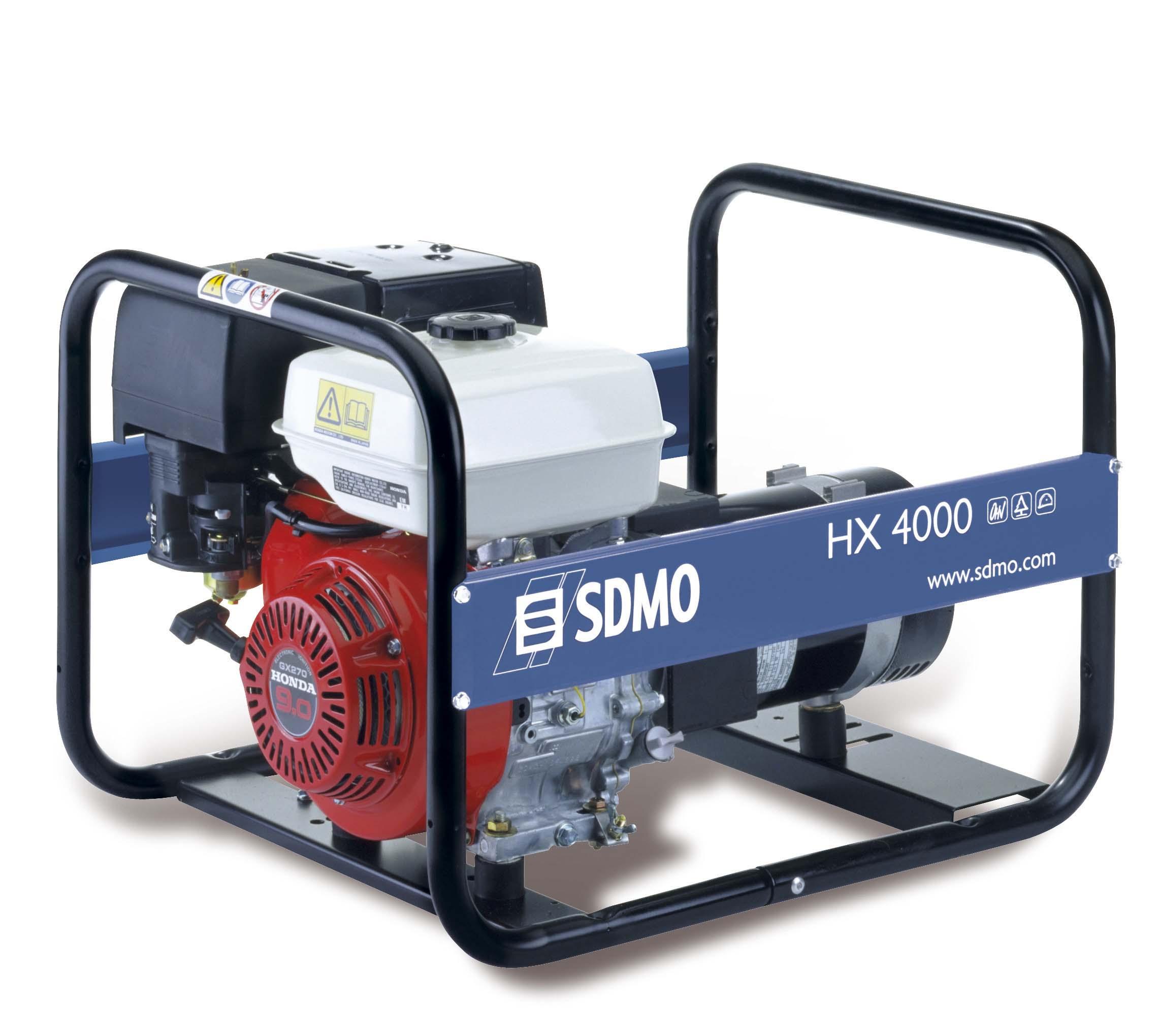 Генераторы - HX 4000 C генератор SDMO